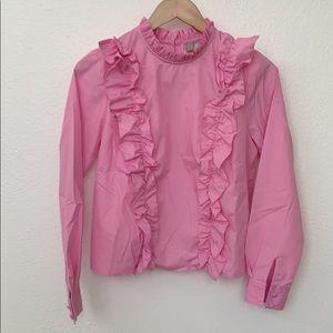 ASOS Ruffle Shirt